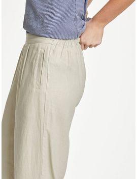 Jasmenia Hemp Plain Trousers Stone White by Thought