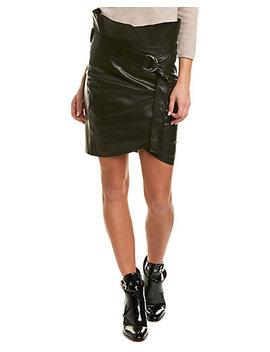 Iro Magma Leather Mini Skirt by Iro