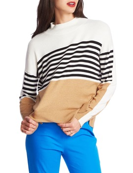 Stripe Colorblock Sweater by Court & Rowe