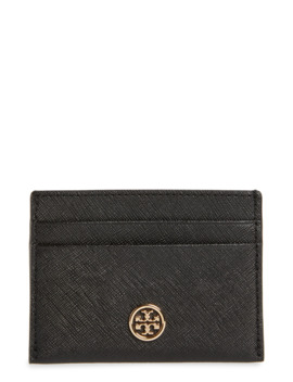 Robinson Leather Card Case by Tory Burch