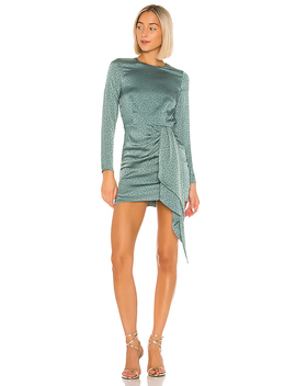Sabina Mini Dress In Pacific Blue by Lovers + Friends