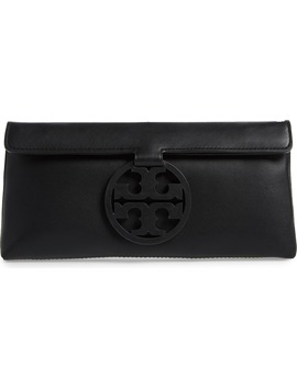 Miller Leather Clutch by Tory Burch