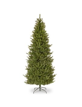 Natural Fraser Slim Green Fir Trees Artificial Christmas Tree by The Holiday Aisle