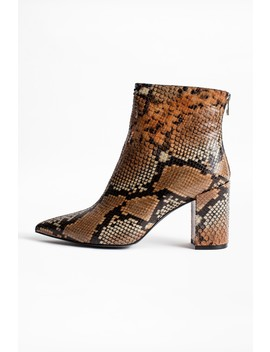 Bottines Glimmer Wild                                                            by Zadig & Voltaire