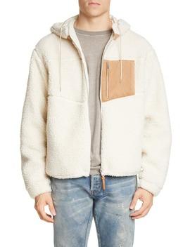 Boulder Polar Fleece Hooded Jacket by John Elliott