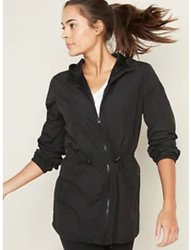 Go H20 Water Resistant Lightweight Hooded Anorak For Women by Old Navy