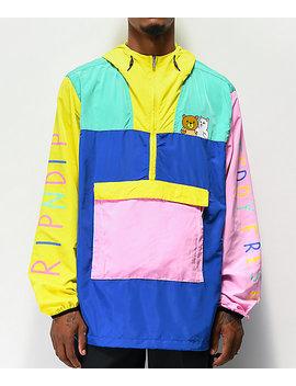 Ripndip X Teddy Fresh 2.0 Colorblock Anorak Jacket by Ripndip