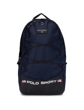 Navy Nylon 'polo Sport' Backpack by Polo Ralph Lauren