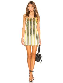 Jules Stripe Cami Dress In Multi Stripe by Superdown