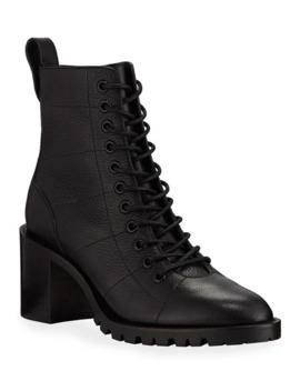 Cruz Lace Up Booties by Jimmy Choo