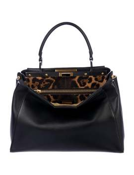 Peek A Boo Bag Satchel by Fendi
