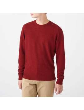 Yak Wool Mix Crew Neck Sweater by Muji