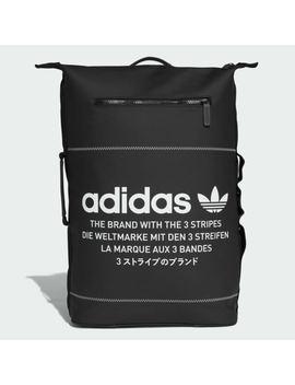 Adidas Originals Nmd Backpack Rubberized Laptop Smartphone Black Handbag Dh3097 by Adidas