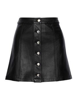 Rosie Leather Mini Skirt by Rag & Bone