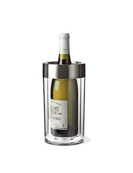 Wine Enthusiast Double Wall Iceless Wine Bottle Chiller by Wine Enthusiast