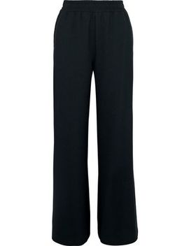 Lattice Trimmed Crepe Wide Leg Pants by See By ChloÉ