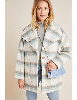 Elsa Plaid Coat by Anthropologie