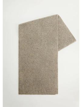 Neps Knit Scarf by Mango