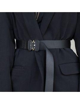 Simple Black   Nylon Tactical Belt by Simple Black