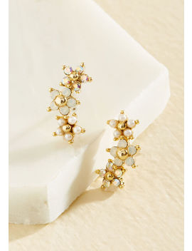 Delicate My Life To You Earrings by Lover's Tempo