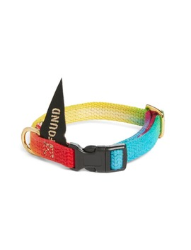Prismatic Woven Cat/Dog Collar by Found My Animal