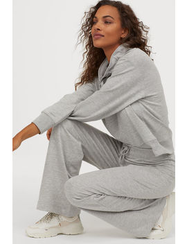 Wide Sweatpants by H&M