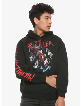 Michael Jackson Thriller Hoodie by Hot Topic