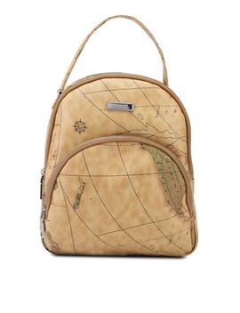 Verchini Map Printing Casual Backpack by Verchini