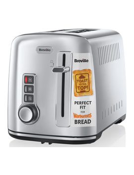 The Perfect Fit For Warburtons Vtt570 2 Slice Toaster   Stainless Steel by Currys