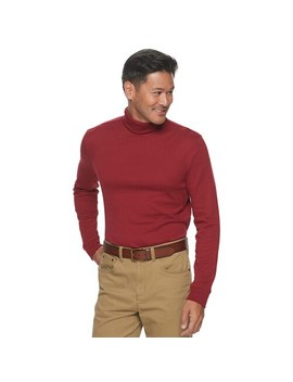 Men's Croft & Barrow® Extra Soft Easy Care Turtleneck by Croft & Barrow