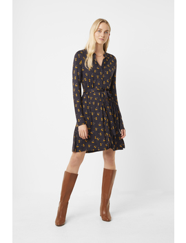 Hester Jersey Belted Dress by French Connection