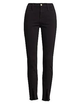 Le High Skinny Split Front Jeans by Frame