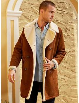 Braydon Faux Shearling Coat by Guess