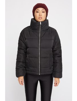 High Neck Puffer Jacket by Urban Planet