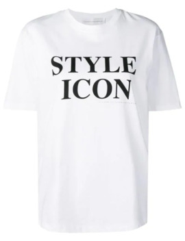 Printed T Shirt by Victoria Victoria Beckham