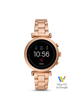 Gen 4 Smartwatch   Sloan Hr Rose Gold Tone Stainless Steel by Fossil