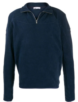 Zipped Neck Polar Sweatshirt by Gmb H
