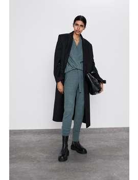 V Neck Sweaternew In Woman by Zara