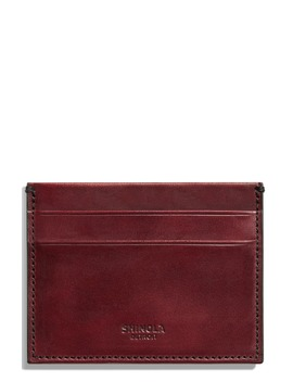 Harness Leather Card Case by Shinola