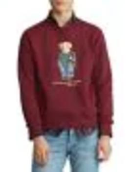 Bear Cotton Blend Fleece Sweatshirt by Polo Ralph Lauren