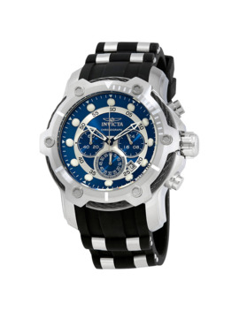 Bolt Chronograph Blue Dial Men's Watch by Invicta