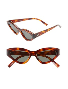 Synthcat 53mm Cat Eye Sunglasses by Le Specs
