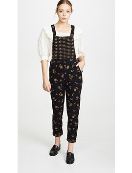 Cord Floral Overalls by Madewell