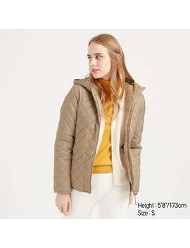 Pile Lined Fleece Quilted Parka by Uniqlo