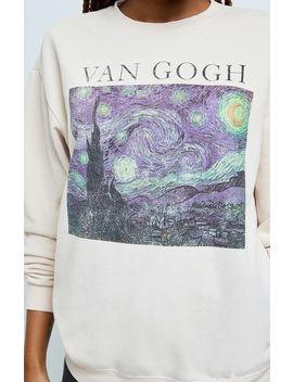 Ps / La Van Gogh Pullover Sweatshirt by Pacsun