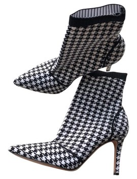 Black And White Boots/Booties by Gianvito Rossi