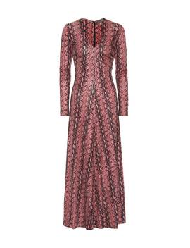 Snake Printed Dress by Alexa Chung
