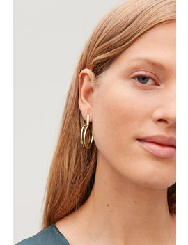 Double Hoop Earrings by Cos