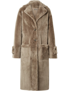 Reversible Shearling Coat by Utzon
