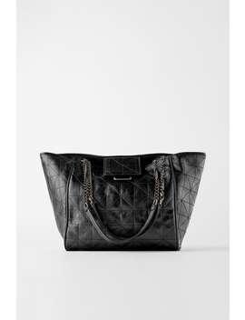 Soft Rocker Tote Bag by Zara